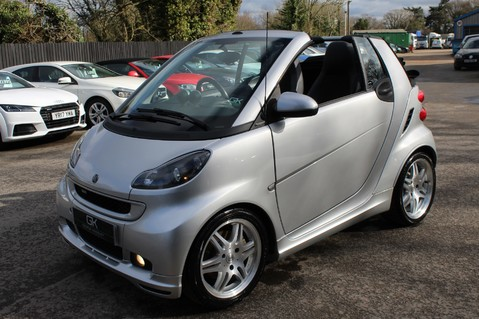 Smart Fortwo Cabrio BRABUS - SAT NAV - HEATED SEATS - FSH - RARE CAR - XENONS - MOT FEB 2021 29