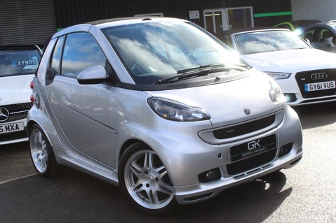 Smart Fortwo Cabrio BRABUS - SAT NAV - HEATED SEATS - FSH - RARE CAR - XENONS - MOT FEB 2021 55
