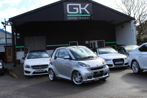 Smart Fortwo Cabrio BRABUS - SAT NAV - HEATED SEATS - FSH - RARE CAR - XENONS - MOT FEB 2021 56