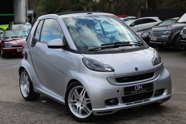 Smart Fortwo Cabrio BRABUS - SAT NAV - HEATED SEATS - FSH - RARE CAR - XENONS - MOT FEB 2021