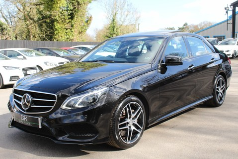 Mercedes-Benz E Class E350 BLUETEC AMG NIGHT ED PREMIUM PLUS -EURO 6 -DISTRONIC -LANE ASSIST 8