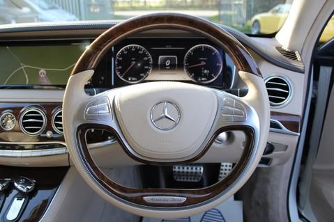 Mercedes-Benz S Class S350 BLUETEC AMG LINE - EURO 6 / ULEZ - PANORAMIC SUNROOF - DIAMOND WHITE 38