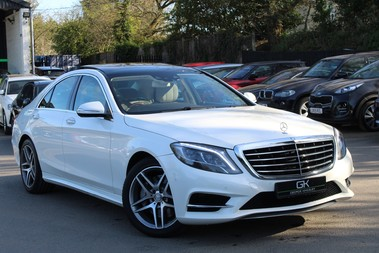 Mercedes-Benz S Class S350 BLUETEC AMG LINE - EURO 6 / ULEZ - PANORAMIC SUNROOF - DIAMOND WHITE
