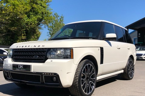 Land Rover Range Rover V8 SUPERCHARGED AUTOBIOGRAPHY OVERFINCH BODYKIT - REAR ENTERTAINMENT - TV 7
