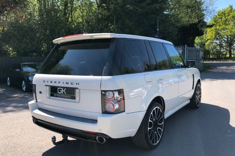 Land Rover Range Rover V8 SUPERCHARGED AUTOBIOGRAPHY OVERFINCH BODYKIT - REAR ENTERTAINMENT - TV 8