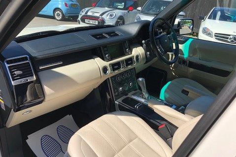 Land Rover Range Rover V8 SUPERCHARGED AUTOBIOGRAPHY OVERFINCH BODYKIT - REAR ENTERTAINMENT - TV 13