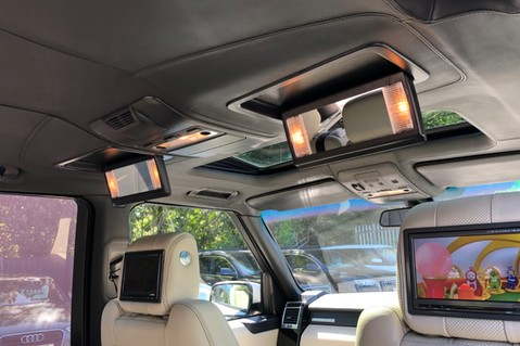 Land Rover Range Rover V8 SUPERCHARGED AUTOBIOGRAPHY OVERFINCH BODYKIT - REAR ENTERTAINMENT - TV 24