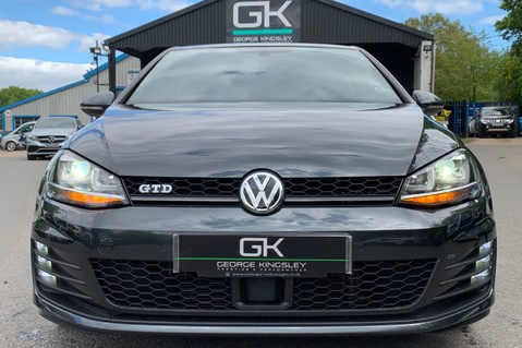 Volkswagen Golf GTD DSG 3DR -LEATHER- SATNAV- 19 INCH SANTIAGOS- APPLE CARPLAY- KEYLESS 15