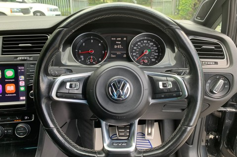 Volkswagen Golf GTD DSG 3DR -LEATHER- SATNAV- 19 INCH SANTIAGOS- APPLE CARPLAY- KEYLESS 31
