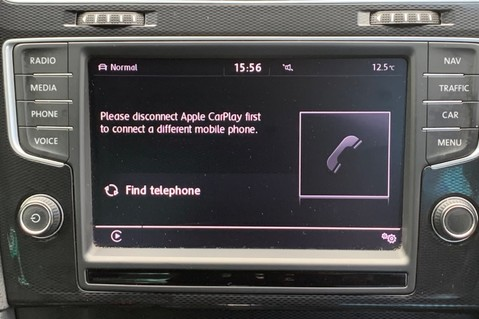 Volkswagen Golf GTD DSG 3DR -LEATHER- SATNAV- 19 INCH SANTIAGOS- APPLE CARPLAY- KEYLESS 37