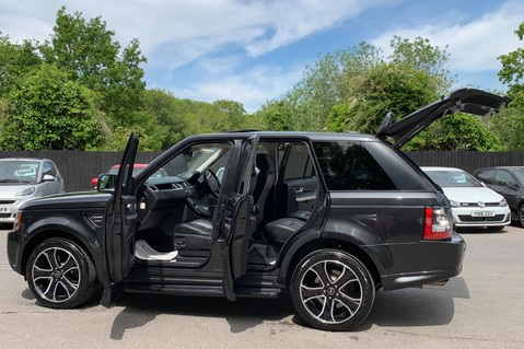 Land Rover Range Rover Sport SDV6 HSE BLACK EDITION -2ND FACELIFT -DIGITAL TV - SUNROOF -ELECTRIC BOOT 19