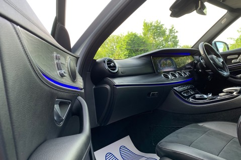 Mercedes-Benz E Class E 220 D AMG LINE PREMIUM - DISTRONIC - WIDESCREEN DIGITAL COCKPIT -PAN ROOF 25