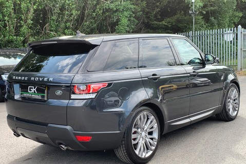 Land Rover Range Rover Sport SDV6 HSE DYNAMIC -EURO 6 -LOW TAX-PAN ROOF -FULL LAND ROVER SERVICE HISTORY 5