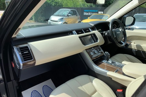 Land Rover Range Rover Sport SDV6 HSE DYNAMIC -EURO 6 -LOW TAX-PAN ROOF -FULL LAND ROVER SERVICE HISTORY 18