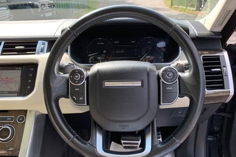Land Rover Range Rover Sport SDV6 HSE DYNAMIC -EURO 6 -LOW TAX-PAN ROOF -FULL LAND ROVER SERVICE HISTORY 39