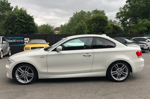 BMW 1 Series 120D M SPORT - RED LEATHER -PRO NAV- BLUETOOTH -HEATED SEATS - FULL BMW S/H 8