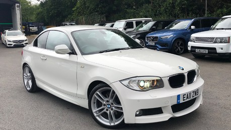 BMW 1 Series 120D M SPORT - RED LEATHER -PRO NAV- BLUETOOTH -HEATED SEATS - FULL BMW S/H Video