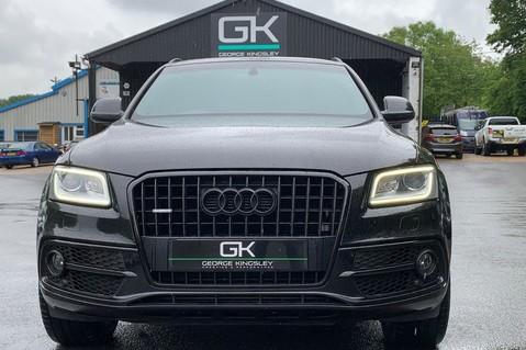 Audi Q5 TDI S LINE PLUS QUATTRO AUTOMATIC - PAN ROOF -LEATHER -DAB RADIO - SAT NAV 9