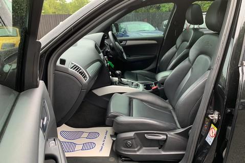 Audi Q5 TDI S LINE PLUS QUATTRO AUTOMATIC - PAN ROOF -LEATHER -DAB RADIO - SAT NAV 21