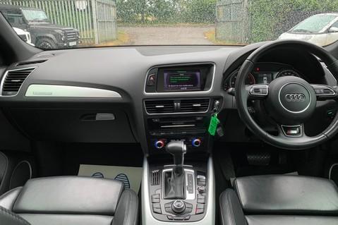 Audi Q5 TDI S LINE PLUS QUATTRO AUTOMATIC - PAN ROOF -LEATHER -DAB RADIO - SAT NAV 11
