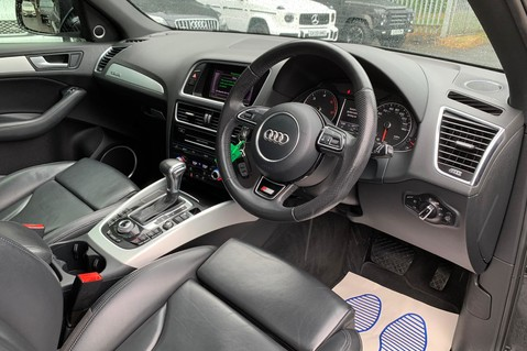 Audi Q5 TDI S LINE PLUS QUATTRO AUTOMATIC - PAN ROOF -LEATHER -DAB RADIO - SAT NAV 12