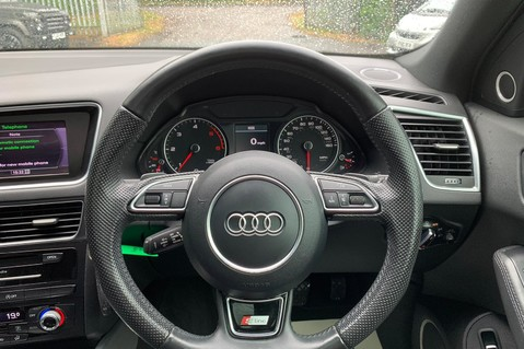 Audi Q5 TDI S LINE PLUS QUATTRO AUTOMATIC - PAN ROOF -LEATHER -DAB RADIO - SAT NAV 36