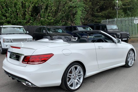 Mercedes-Benz E Class E 350 D AMG LINE EDITION PREMIUM - EURO 6 - AIRSCARF - ONE LADY OWNER 5