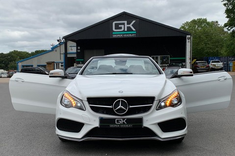 Mercedes-Benz E Class E 350 D AMG LINE EDITION PREMIUM - EURO 6 - AIRSCARF - ONE LADY OWNER 48