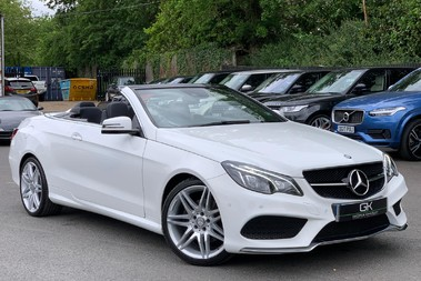 Mercedes-Benz E Class E 350 D AMG LINE EDITION PREMIUM - EURO 6 - AIRSCARF - ONE LADY OWNER