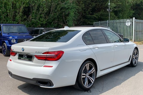 BMW 7 Series 730D XDRIVE M SPORT - SUNROOF- HARMAN KARDON- 1 OWNER - MINERAL WHITE 5