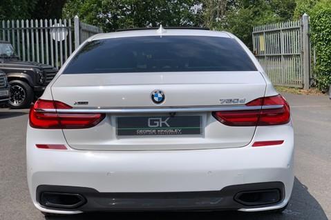 BMW 7 Series 730D XDRIVE M SPORT - SUNROOF- HARMAN KARDON- 1 OWNER - MINERAL WHITE 6