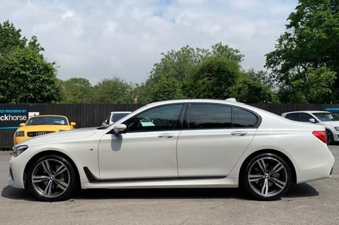 BMW 7 Series 730D XDRIVE M SPORT - SUNROOF- HARMAN KARDON- 1 OWNER - MINERAL WHITE 7