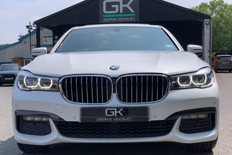 BMW 7 Series 730D XDRIVE M SPORT - SUNROOF- HARMAN KARDON- 1 OWNER - MINERAL WHITE 9