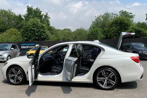 BMW 7 Series 730D XDRIVE M SPORT - SUNROOF- HARMAN KARDON- 1 OWNER - MINERAL WHITE 17