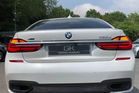 BMW 7 Series 730D XDRIVE M SPORT - SUNROOF- HARMAN KARDON- 1 OWNER - MINERAL WHITE 19