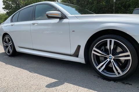 BMW 7 Series 730D XDRIVE M SPORT - SUNROOF- HARMAN KARDON- 1 OWNER - MINERAL WHITE 21