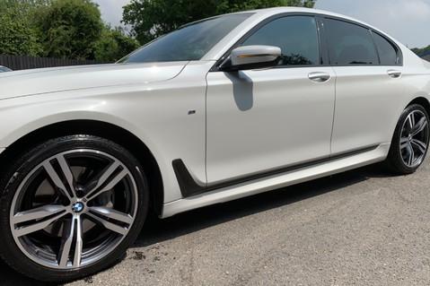 BMW 7 Series 730D XDRIVE M SPORT - SUNROOF- HARMAN KARDON- 1 OWNER - MINERAL WHITE 23