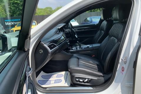 BMW 7 Series 730D XDRIVE M SPORT - SUNROOF- HARMAN KARDON- 1 OWNER - MINERAL WHITE 10