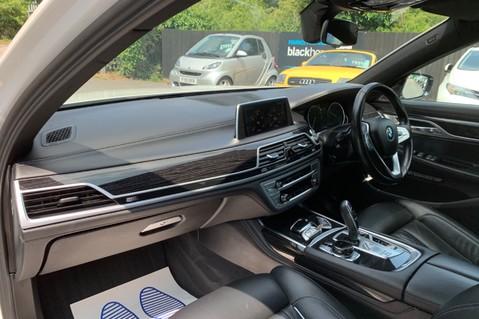 BMW 7 Series 730D XDRIVE M SPORT - SUNROOF- HARMAN KARDON- 1 OWNER - MINERAL WHITE 24