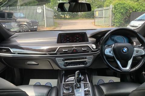 BMW 7 Series 730D XDRIVE M SPORT - SUNROOF- HARMAN KARDON- 1 OWNER - MINERAL WHITE 12