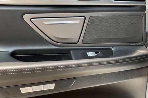BMW 7 Series 730D XDRIVE M SPORT - SUNROOF- HARMAN KARDON- 1 OWNER - MINERAL WHITE 34