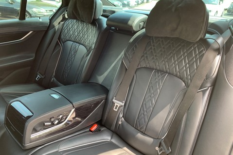 BMW 7 Series 730D XDRIVE M SPORT - SUNROOF- HARMAN KARDON- 1 OWNER - MINERAL WHITE 13