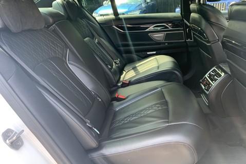BMW 7 Series 730D XDRIVE M SPORT - SUNROOF- HARMAN KARDON- 1 OWNER - MINERAL WHITE 38
