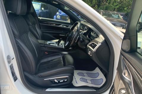 BMW 7 Series 730D XDRIVE M SPORT - SUNROOF- HARMAN KARDON- 1 OWNER - MINERAL WHITE 44