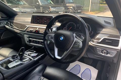 BMW 7 Series 730D XDRIVE M SPORT - SUNROOF- HARMAN KARDON- 1 OWNER - MINERAL WHITE 45