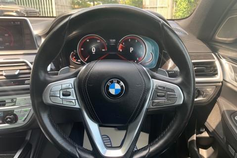 BMW 7 Series 730D XDRIVE M SPORT - SUNROOF- HARMAN KARDON- 1 OWNER - MINERAL WHITE 50