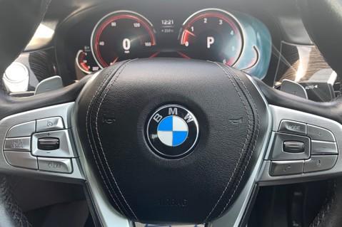 BMW 7 Series 730D XDRIVE M SPORT - SUNROOF- HARMAN KARDON- 1 OWNER - MINERAL WHITE 56