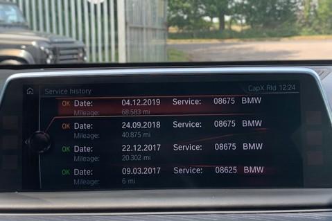 BMW 7 Series 730D XDRIVE M SPORT - SUNROOF- HARMAN KARDON- 1 OWNER - MINERAL WHITE 62