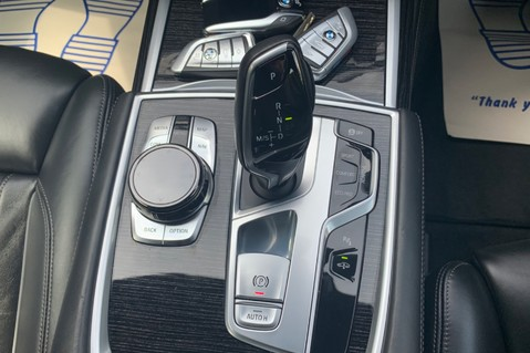BMW 7 Series 730D XDRIVE M SPORT - SUNROOF- HARMAN KARDON- 1 OWNER - MINERAL WHITE 71