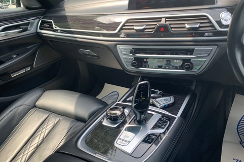 BMW 7 Series 730D XDRIVE M SPORT - SUNROOF- HARMAN KARDON- 1 OWNER - MINERAL WHITE 73